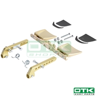 Complete rudder pedals for Mini CIK-FIA