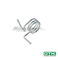 Brake pedal spring for Mini CIK-FIA rudder pedals