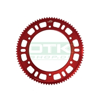 Sprocket, 215, 76T, Red