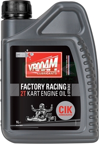 Vrooam Factory Racing, 2T oil, CIK Homolegated