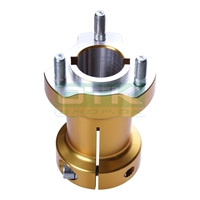 Rear wheel hub 30/95-8, gold