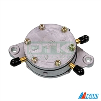 Fuel pump, 3-way, round, Mikuni