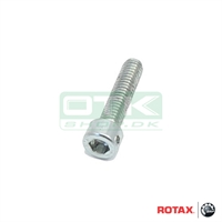 Bolt M6 x 25MM with plomber hole, Rotax Max