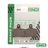 Brake pads BSD rear, 2 pcs box