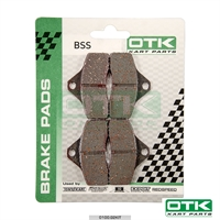 Brake pads BSS-BSM4, KZ front og Rookie EV, 4 pcs box