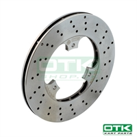 Self-ventilated rear brake disk 180x13mm