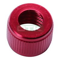 Cap for fuel tank for fuel pipe, AL, red