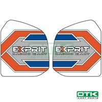 Exprit fuel tank stickers for 8,5L tank