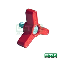 Fuel tanks fixing knob