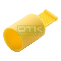 Spark plug protection cap, Gul