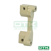 Calipers connection for eccentric axle support 10 mm D180 (Moves caliper 10 mm)