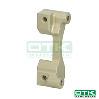 Calipers connection for eccentric axle support  5 mm D180 mm (Moves caliper 5 mm)