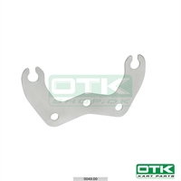 One pieces Integral chain guard support