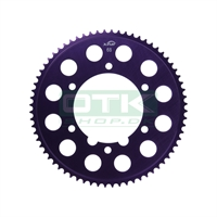 Sprocket, 215, 67T, Red