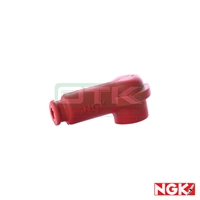 Spark plug cap, NGK for R7282, Red