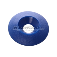 Countersunk Washer D.30 x 8 mm, Blue Colour