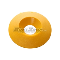 Countersunk Washer D.30 x 8 mm, Yellow Colour