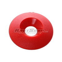 Countersunk Washer D.30 x 8 mm, Red Colour