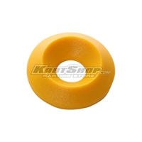 Countersunk Washer D.17 x 6 mm, Yellow Colour