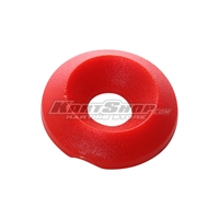 Countersunk Washer D.17 x 6 mm, Red Colour