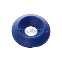 Countersunk Washer D.17 x 6 mm, Blue Colour
