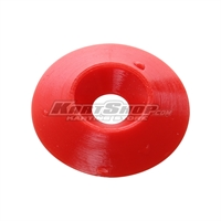 Countersunk Washer D.25 x 6 mm, Red Colour