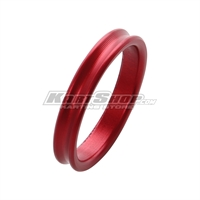 Spacer for 25mm Stub axle, 5 mm, Red
