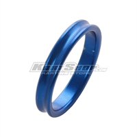 Spacer for 25mm Stub axle, 5 mm, Blue