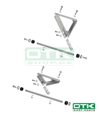 Supports Kit for Radiator OTK 470x265x43