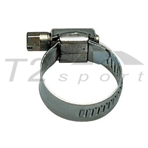 Steel clamp for waterpipe, D16-27