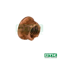 Wheel hexagonal self-locking nut