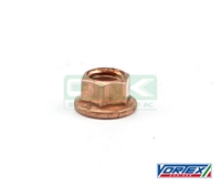 Engine head nut copper M8, Vortex