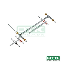 Support kit for OTK radiator 400 x 200 mm