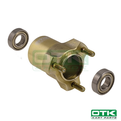 Complete BST MG front wheel hub L. 75mm