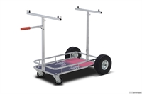 Kart trolley with Kosmic sticker, OTK, Chrome