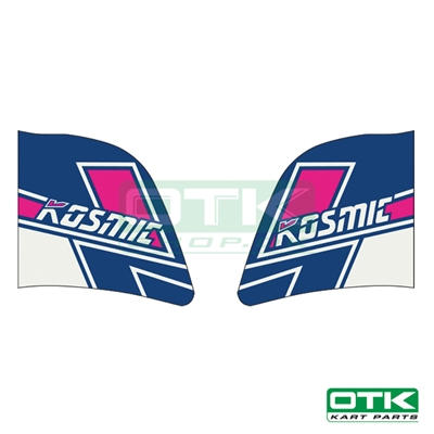 Kosmic fuel tank stickers for 3L tank, 2019