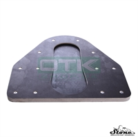 Plate for mounting tire, Stone