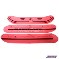 New Line Slim Chassis Protection kit, 3 pieces, Red