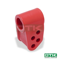 Nylon support for steering column Red