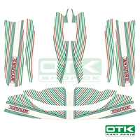Tonykart stickers kit M6-M7, 2019