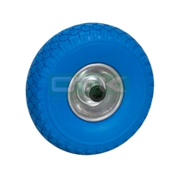 Wheel for trolley, 260 x 85 mm, Blue