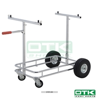 Kart trolley without sticker, OTK, Chrome