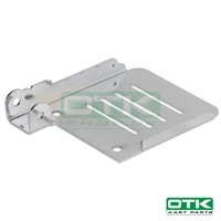 Accelerator pedal plate for Mini Kart rudder pedals