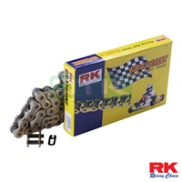 RK chain for KZ, 428 gold , 72 , with chain link