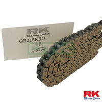 RK Chain, Gold, 215, 100 , O-ring