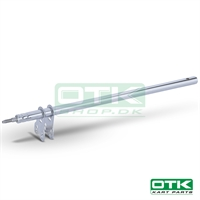 45/55 steering column L. 470, 8mm