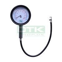 Tire pressure gauge, 0 - 2,5 bar
