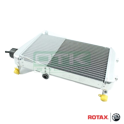 Radiator, Rotax DD2 with air shield