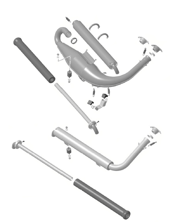 Rotax Max Exhaust