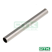 Round front bar Ø30 x 1mm chrome